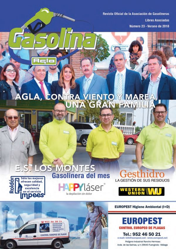 PORTADA REVISTA GASOLINA JULIO 2018 600